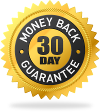 30 day money back guarantee, no questions asked.